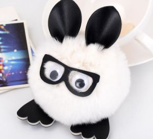 Cute Play Glasses Rabbit Plush Animals Toy pictures & photos