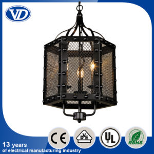 Loft Retro Iron Netted Creative Personality Iron Pendant Light