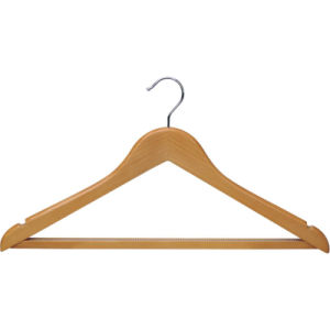 Clothes Wooden Male Hanger for Sale with Non Slip Teeth pictures & photos