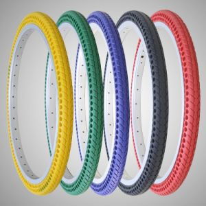 Colorful 700 23c Free-Inflation Tire for Fixed Gear Road Bike Small MOQ Tire Tube / Solid Rubber Bicycle Tire Tubeless pictures & photos