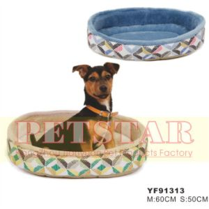 Fashion Windmill Pattern with Soft Plush Pet Beds Yf91313 pictures & photos