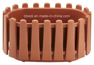 Elliptic Plastic Fence Pot (KD7412) pictures & photos