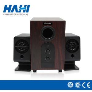 Mini USB Amplifier Multimedia Loudspeaker Wooden Digital Stereo Speaker pictures & photos