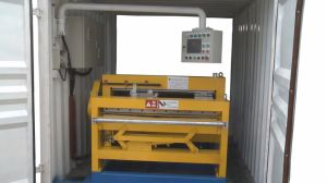 Sheet Metal Flattening Slitting Cutting Machine pictures & photos