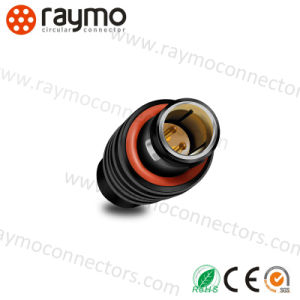 Metal Circular Push Pull Auto 2 Pin Cable to Cable Connector pictures & photos