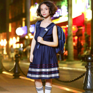 New Design Beautiful Dress Style School Uniform for Girls pictures & photos