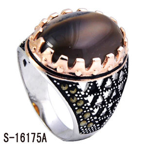 Hot Selling 925 Sterling Silver with Copper Men Rings. pictures & photos