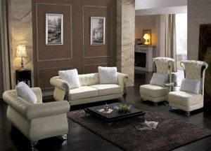 European Leather Sofa with New Design pictures & photos
