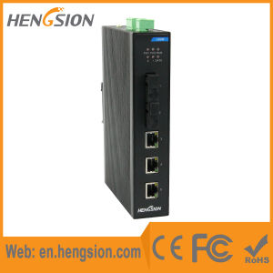 5 Port Fiber Industrial Ethernet Network Switch pictures & photos