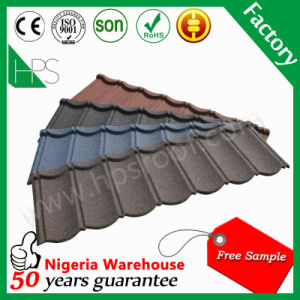 Happiness Colorful Stone Coated Steel Roof Tile pictures & photos