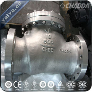 Cast Steel Cryogenic Swing Check Valve pictures & photos
