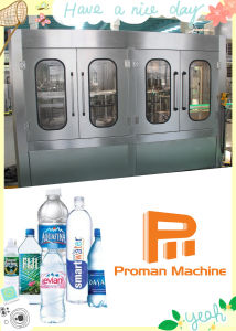 Simple Operation Fully Automatic Hot Sale Pet Bottle Water Drinking Filling Machine pictures & photos