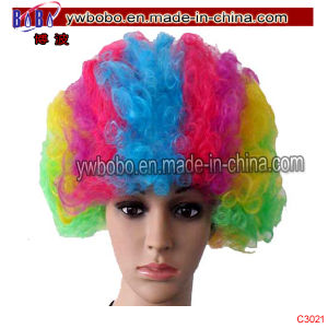 Afro Party Wig Costume Business Gift Holiday Party Gift (C3021) pictures & photos
