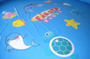 Large Ocean Theme Inflatable Swimming Pool for Kids (CHW314) pictures & photos