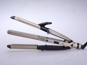 Proefessional Hair Iron Hair Straightener and Hair Curler 2 in 1 Multi-Functional pictures & photos