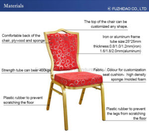 Luxury Hotel furniture Red Banquet Chair for Wedding Party pictures & photos