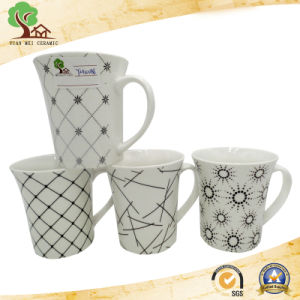 Best Selling Ceramic Mug Design with Stripe pictures & photos
