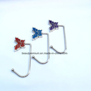 Creative Butterfly Shape Folding Bag Hanger L′oreal Audit Bag Holder BPS0132 pictures & photos