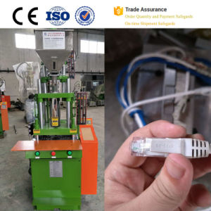Patch Cord Cable Making Plastic Vertical Injection Machine pictures & photos
