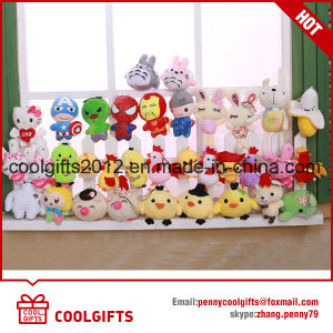 Wholesale Factory Mini Small Animals Toys Plush Keychain, Soft Stuffed Toy pictures & photos