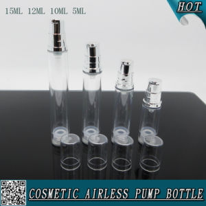 Cosmetic Clear Plastic Refillable Spray Bottle with Hozzle pictures & photos