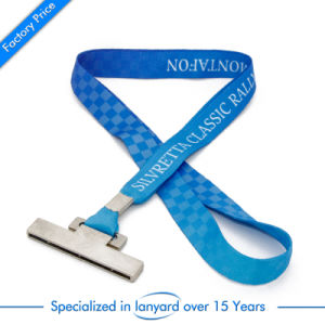 High Quality Transfer Printed Promotion Gift Lanyard pictures & photos
