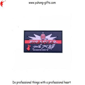 Customized Soft PVC Patch for Garments (YH-L006) pictures & photos