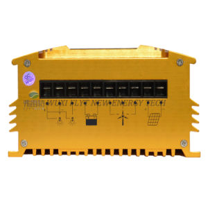 12V 24V Auto MPPT Hybrid Controller with 300W Vertical Wind Generatlr pictures & photos