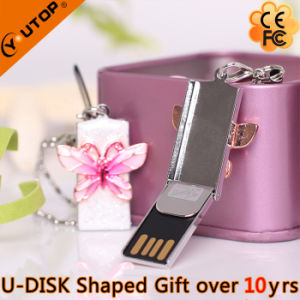 Butterfly USB Memory Stick for Lady Gift (YT-6275) pictures & photos