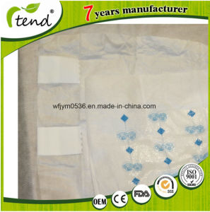 Refastenable Square Magic Velcro Tape Printed Design Adult Diaper pictures & photos