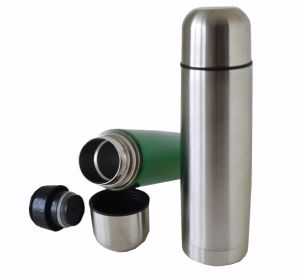 0ml Top Sale Double Wall Stainless Steel Vacuum Thermos Flask with Bullet Shape pictures & photos