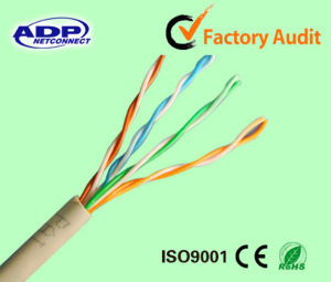 High Quality Indoor Ccag UTP FTP SFTP Cat5e Network Ethernet LAN Cable pictures & photos