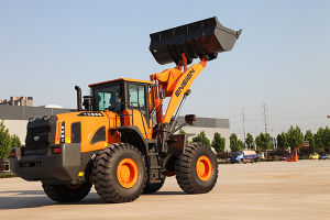 Ensign 5 Ton Wheel Loader Yx656 with Weichai Engine Rated Power 220HP pictures & photos
