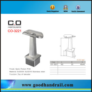 Stainless Steel Square Handrail Bracket/Baluster pictures & photos