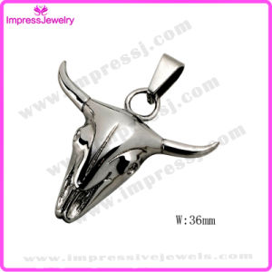 Animal Head Cool Cow Shape Stainless Steel Pendant for Men pictures & photos