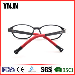 Free Samples Ynjn Pink Ellipse Frame Eye Glasses Tr90 (YJ-G81178) pictures & photos
