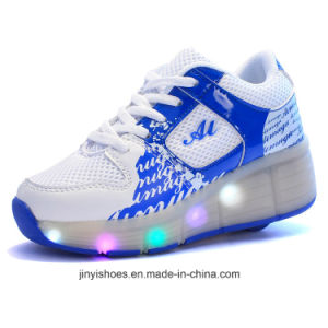 Wings of Light Shoes USB Shoes/More Color Shoes / Luminous Shoes LED with Light Shoes pictures & photos