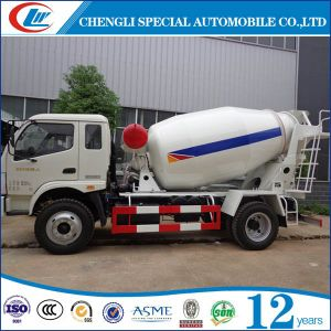 4cbm 5cbm 6 Wheels Concrete Truck Mixer pictures & photos