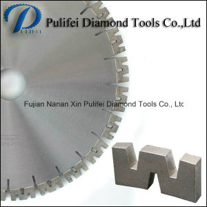 Pulifei Sharp Disc W Segment Diamond Cutting Disc for Hard Granite Stone Concrete