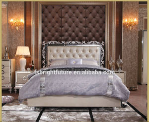 New Design Modern Leather Bed Room Furniture Bedroom Set Bed pictures & photos