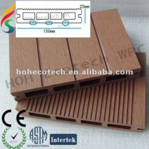 25mm Thickness Anti-Crack Outdoor WPC Composite Deck Floor pictures & photos