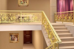 Gloden Cast Stainless Steel Railing Stair Handrail pictures & photos
