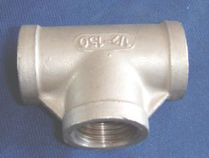 Malleable Fitting Galvanized Tee pictures & photos