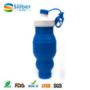 New Products 2016 Outdoor Portable Collapsible Travel Foldable Silicone Bottle pictures & photos