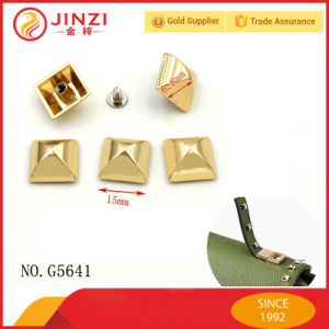 Fashion Pyramid Shinning Decorative Metal Stud Rivet for Bag Parts pictures & photos