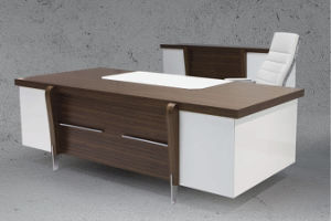 Fashion Modesty Panel L Shape Executive Office Desk/Table (NS-ND066) pictures & photos