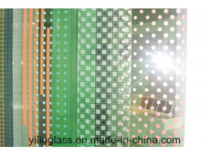 Print Decorative Art Glass for Public Areas Apartment Blocks pictures & photos