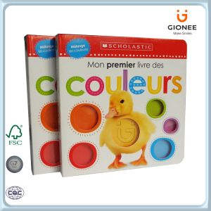 Casebound Puzzle Book for Prechool Children to Tell Colors pictures & photos