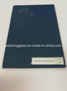 4mm/5mm Dark Blue Reflective Glass for Building pictures & photos