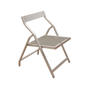 Patio Garden Furniture Set Testilene Aluminum Folding Restaurant Dining Chair for Sale pictures & photos